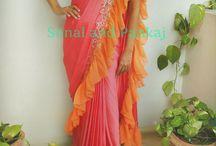 Saree variations