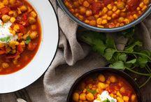 vegetarische Suppen und Eintöpfe