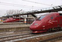 TGV Thalys, Paris⇆Brussels⇆Amsterdam⇆Köln