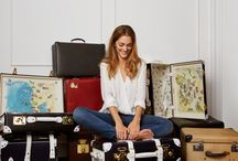 Travel in Fashion / Travel fashion and luxury travel baggage collections