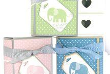 Tag, Bags, Boxes and gifts / Doosjes, cadeaukaart houders, tasjes, zakjes, cadeautjes enz.