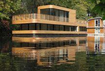 Casas Flotantes / Casas que flotan en el agua y pueden trasladarse