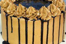 Anniversaire layer cake chocolat