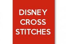 Disney cross stitches