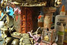 Brass Castle / Tapir-models.ro 28/04/2014 diorama fantasy 1/72 scratch building models
