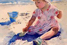 bimba seduta nella.sabbia.con sekiello.e capelli no. Chihiro yabe gppns