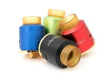 compass rda / Manual roulette style plane coil fixed Cluster effect cap design,best flavor feeling Two cap design One Stainless Steel cap,show your big vaping clouds Another Aluminum AFC cap,enjoy your flavor taste