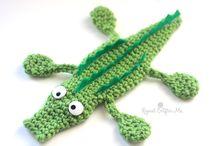 Crochet - Crocodiles !