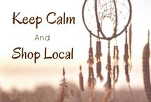 Keep Calm and Shop Small / Handmade shops working together to support/promote their business! Marketing ideas/social media/networking/ promoting small shops!!