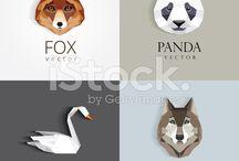 лого волк