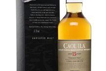 Caol Ila single malt scotch whisky / Caol Ila single malt scotch whisky
