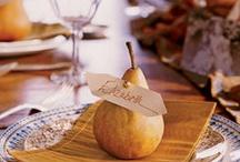 Escort / Entree Card Ideas / by Napa Valley Custom Events  LLC