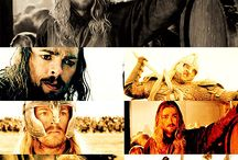 Lord of the rings and hobbit