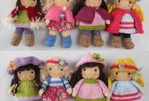 papusele tricotate