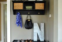 For the home - entry way / by Jenny Schindler Melander