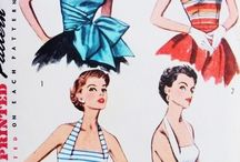 1950's Sewing Patterns / Vintage sewing patterns from the 1950's