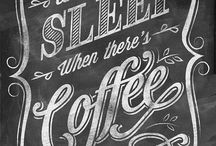 coffee typografi