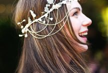 brides hair accessories