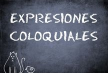 expresiones coloquiales