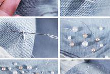 Bordado em jeans