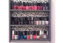 D.I.Y for bedrooms/makeup and brush storage / D.I.Y ideas to use in your bedroom. For makeup and makeup brush storage. All great ideas to personalize your bedroom or spice up different areas of your home, or bathroom.