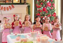 Gingerbread House Decorating Party / by Cassie McGill