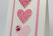 Hearts/Love Cards / Valentines, Love you Card Ideas