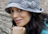 crochet-Hats & chemo caps / by All Free Crochet & Knitting
