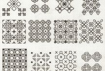 blackwork stitch