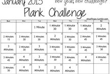 30 day fit challenges!   / Fitness  / by Aleks Romo