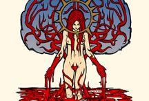 Horror Art / Disturbing and Lurid