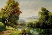 krajinomaľba/landscape painting