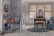 1920s Home - Bedroom