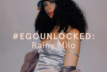 #EGOUNLOCKED / Introducing our #EGOUNLOCKED series. The place where we discover raw, new talent and give these babes a platform to talk about their talents, work and loves.