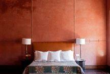 Marokkanischer Stil / wohnen mit buntem Farben