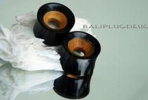 Bali Plugs Design / Plugs organic from Bali