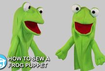 How to Sew Puppets / Step by step video tutorials on how to sew our puppet patterns