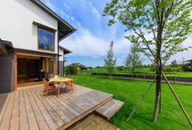 ウッドデッキ wood deck