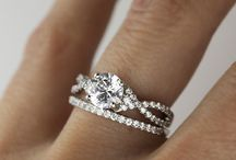 Wedding rings for bride