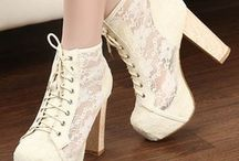 Grosse chaussures chic