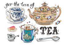Tea&Coffee Illustrations