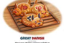Датские булочки