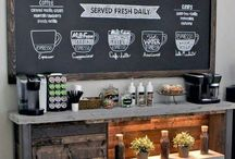 Barra cafés