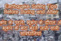 Earthquake safety tips before during and after