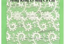 New Embroidered Net Lace Fabric Pattern / More Lace Pattern Show on http://laceandtrims.weebly.com