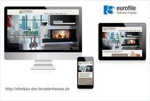 tolle Webseiten / Konzeption, Design und technische Umsetzung von eurofile.de