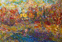 Landscape by Nikolay Malafeev