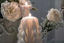 Wedding candle - Γαμος / Στη πιο ευτυχισμένη στιγμή της προσωπικής σας ζωής βάζουμε μια πινελιά που θα κάνει και τη διαφορά