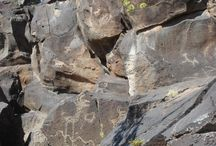 New Mexico - Treasures of the past / Petroglyphs and ancient ruins