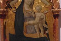 Andrea di Giusto: Madonna di S.Maria Nuova a Firenze / Andrea di Giusto: Madonna di S. Maria Nuova a Firenze (Galleria dell' Accademia)